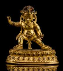 Fire-gilt Bronze of the Hayagriva