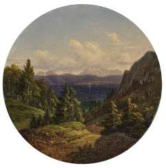 Views of a mountain Lake , Morgenstern, Carl, attributed to 1811, Frankfurt a. M., 1893, ibid., attributed to