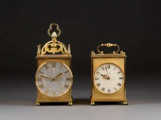 TWO TABLE CLOCKS
