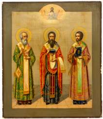 HL. THREE HIERARCHES GREGOR THE THEOLOGIST, BASIL THE GREAT AND JOHN CHRYSOSTOMOS