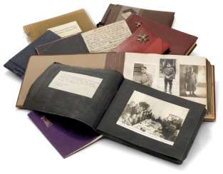 AN EXCEPTIONAL AND RARE GROUP OF PHOTOGRAPHIC ALBUMS DEPICTING THE WHITE RUSSIAN EMIGRATION IN SERBIA AND IN CHINA CIRCA 1930