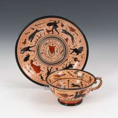 Cup with antique motifs, KPM