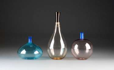 THREE VASES FROM THE SERIES 'COLLETTO' (DRAFT 1968)