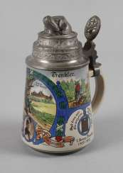 Reservists Jug Of Jäger-Bat. No 13, Saxony