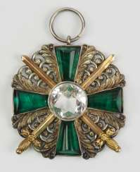 Baden: Grand of the order of the Zähringer Löwen, knights cross 2 Duke. Class with swords.