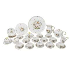HEREND tea set for 6-12 people, 20. Century