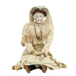 CHINA-HEAD doll, probably 19. Century
