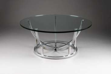 DESIGN GLASS TABLE