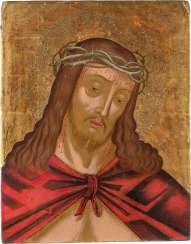 ICON WITH THE THORN-CROWNED CHRIST