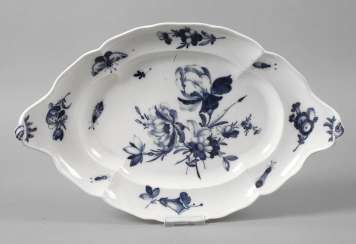 Meissen Serving Plate Point Time