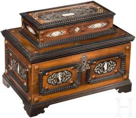 Baroque luxury box from the possession of the princes of Thurn & Taxis, South Germany, around 1720