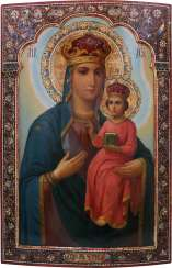A MONUMENTAL ICON OF THE MOTHER OF GOD FROM A CHURCH ICONOSTASIS Russia