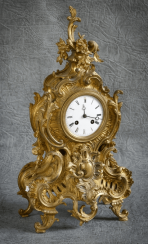 Mantel clock the 19th century, France