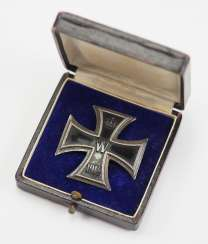 Prussia: Iron Cross, 1914, 1. Class, in a case - 800.