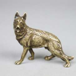 Animal sculpture German Shepherd