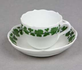 Meissen Mocha Setting *Vine Leaves*