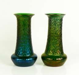 Pair Of Art Nouveau Vases