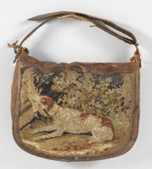Hunting bag with embroidery