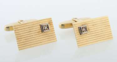 Pair of cufflinks 1970s