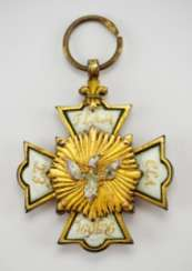 Hohenlohe: house and knight of the order of the Phoenix, knight's cross, 1. Type.