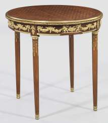 Louis XVI salon table by François Linke