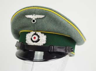 Wehrmacht: visor cap for enlisted men and officers of the intelligence service.