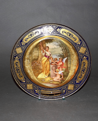 Vienna, middle of XIX century porcelain, painting