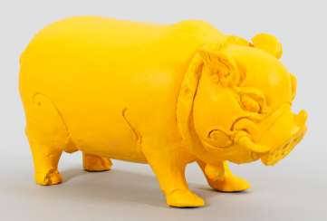 Indonesian Pig Sculpture