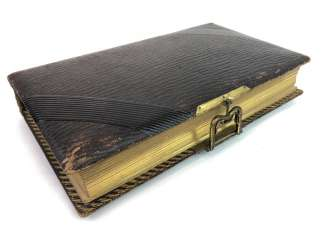 Photo album 1900's. Historical photos, military and family. Leather with gold cut.