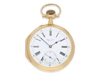 Pocket watch: the quality of the Louis XV Pocket chronometers, may be the Observation chronometer, Antoine Freres Besancon, No. 42170, CA. 1890