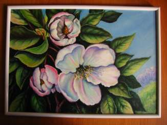 "Painting ""Apple Blossom"""