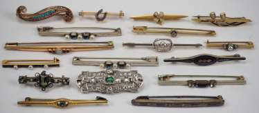 Collection Of Brooches.