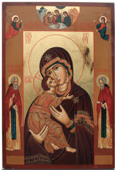 The Image Of Our Lady Of Vladimir