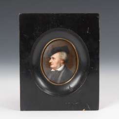 Miniature Portrait Of Wagner.