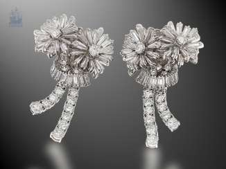 Earrings: exclusive and extremely high-quality vintage goldsmith work in the