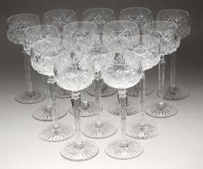 Set Of Crystal Goblets