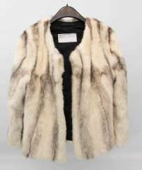 CONV. TWO fur badger/mink, 20 coats,. Century
