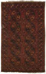 Small antique Turkmen carpet