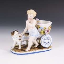 Putto with dog team