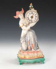 Rare plastic: Chinese woman with clock, NYMP