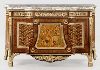 Grande commode de style Louis XVI