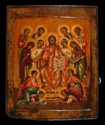 Icon with Advanced Deeisis intercession.