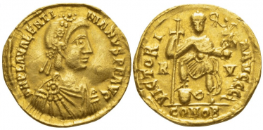 ROMAN EMPIRE SOLIDUS 426 - 430