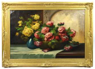 Rose still life - hunter
