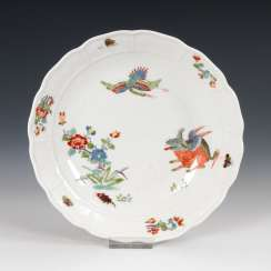 Bowl with kakiemon painting, MEISSEN.