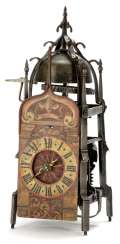 Gothic Iron Wheel Clock. Probably South German, 16. Century