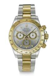 ROLEX, DAYTONA, TWO-TONE 18K YELLOW GOLD AND STEEL, REF. 116523