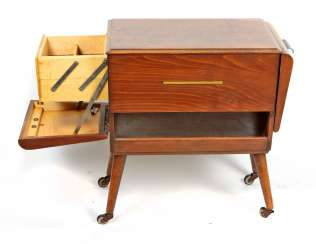 Art Deco sewing box 1930's