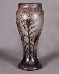 Daum vase, France, early XX century