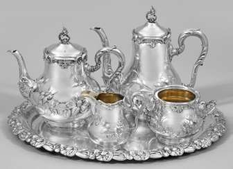 Art Nouveau coffee and tea service